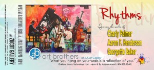 Rhythms Exhibit -The Art Brothers at ZuCot Gallery